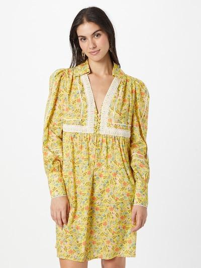 PAUL & JOE Kleid 'HERMINE' in gelb / mischfarben, Modelansicht