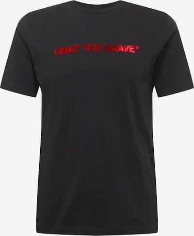 DIESEL Shirt in grenadine / schwarz / weiß, Produktansicht