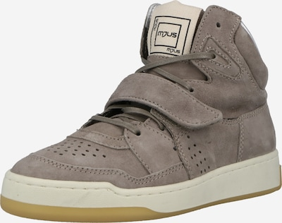 Sneaker înalt MJUS pe bej închis, Vizualizare produs