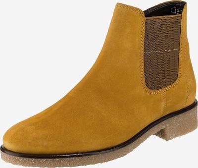 GABOR Chelsea Boots in goldgelb: Frontalansicht