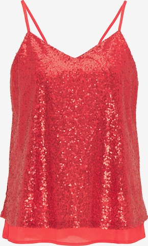 myMo at night Top in Rood