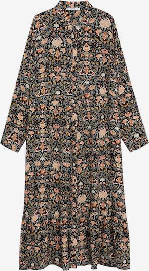 VIOLETA by Mango Robe-chemise 'Natalia8' en mélange de couleurs / noir, Vue avec produit