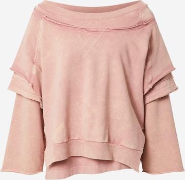 DIESEL Sweatshirt 'STRATTY' in Pink