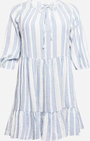 ABOUT YOU Curvy Kleid 'Pace' in blau / weiß, Produktansicht