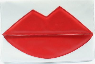 UNBEKANNT Clutch in One Size in rot / weiß, Produktansicht