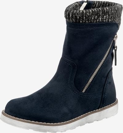ambellis Stiefel in dunkelblau / grau, Produktansicht