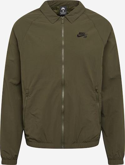 Nike SB Jacke in khaki / schwarz, Produktansicht