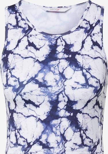 HKMX Haut de sport en bleu marine / bleu roi / blanc, Vue avec produit