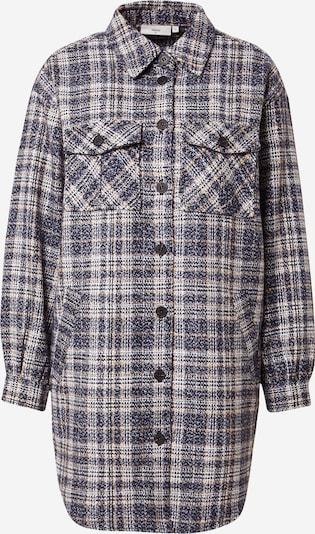 minimum Jacke 'Ternie' in schwarz / weiß, Produktansicht