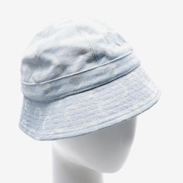 Marine Serre Hat & Cap in S in Blue