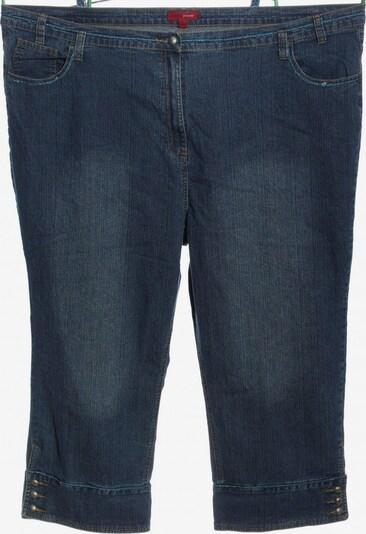 Queen Size 3/4 Jeans in 43-44 in blau, Produktansicht