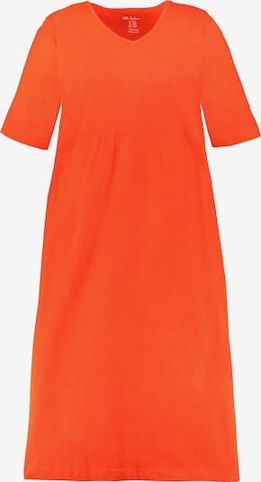 Ulla Popken Kleid in orangerot, Produktansicht