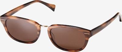 Y's Sonnenbrille YS5005-187 in braun / kastanienbraun / hellbraun / dunkelbraun, Produktansicht