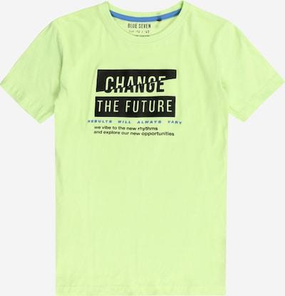 BLUE SEVEN Тениска в синьо / светлозелено / черно, Преглед на продукта