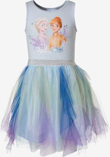 Disney Die Eiskönigin Jerseykleid in blau / mischfarben, Produktansicht
