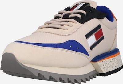 Tommy Jeans Sneaker in creme / blau / stone / orange / rot, Produktansicht