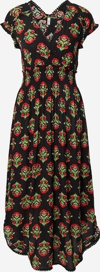 Blutsgeschwister Robe en vert / rouge / noir, Vue avec produit