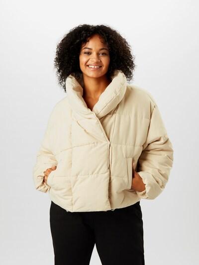 Giacca invernale 'Ayel' PIECES di colore crema: Vista frontale