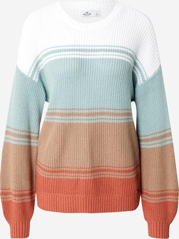 mišri HOLLISTER Laisvas megztinis