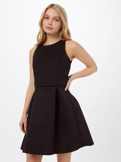 WAL G. Kleid 'HEAVY SCUBA' in schwarz, Modelansicht