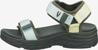 CAMEL ACTIVE Sandale in hellgelb / oliv / mint, Produktansicht