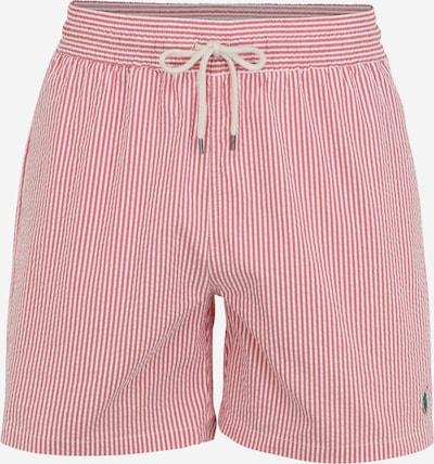 POLO RALPH LAUREN Plavecké šortky 'TRAVELER' - pastelově červená / bílá, Produkt
