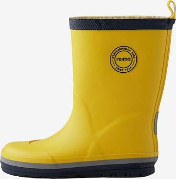 Bottes en caoutchouc Reima en jaune