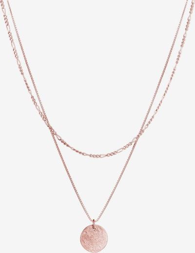 ELLI Halskette Figaro, Layer in rosegold, Produktansicht