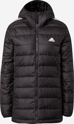 ADIDAS PERFORMANCE Outdoor Jacket 'ESSENTIAL' in Black