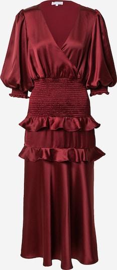 True Decadence Avondjurk in de kleur Bourgogne, Productweergave