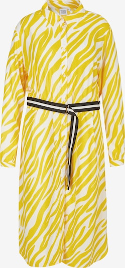 Rock Your Curves by Angelina K. Shirt Dress in Yellow, Item view