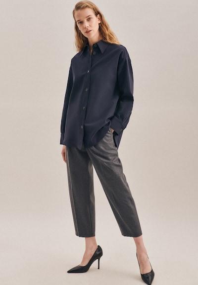SEIDENSTICKER Jacke ' Schwarze Rose ' in blau, Modelansicht