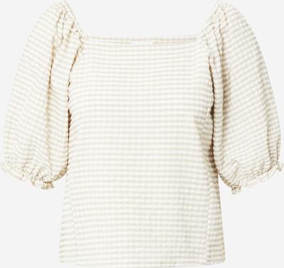Tricou 'FENJA' Noisy may pe maro cămilă / alb, Vizualizare produs