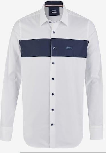 DANIEL HECHTER Hemd in navy / weiß, Produktansicht