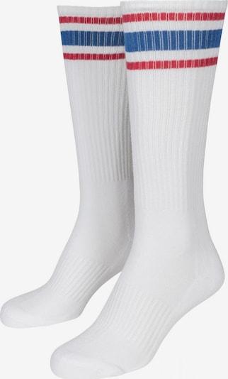Urban Classics Socken in blau / rot / weiß, Produktansicht