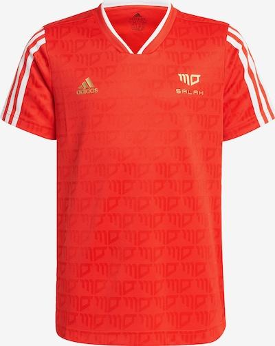 ADIDAS PERFORMANCE Functioneel shirt 'Salah Football-Inspired' in de kleur Mosterd / Rood / Wit, Productweergave