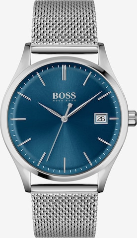 BOSS Casual Analoguhr in Silber