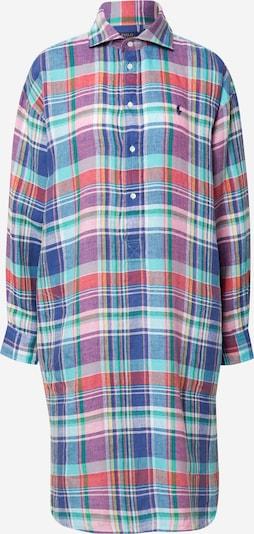 POLO RALPH LAUREN Košeľové šaty - modrá / dymovo modrá / nefritová / fialová / biela, Produkt