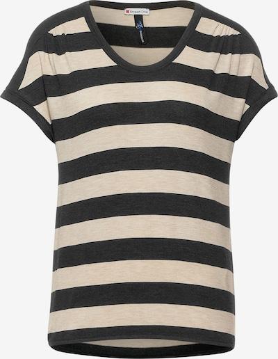 STREET ONE T-Krekls, krāsa - bēšs / antracīta, Preces skats