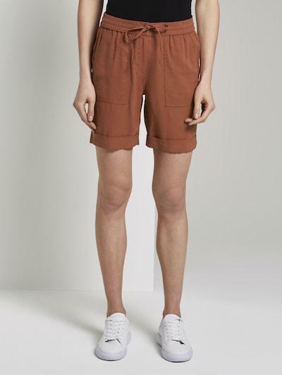 TOM TAILOR Bermuda Shorts in braun, Modelansicht