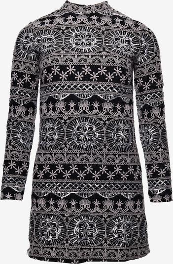 Superdry Robe fourreau en noir / blanc, Vue avec produit