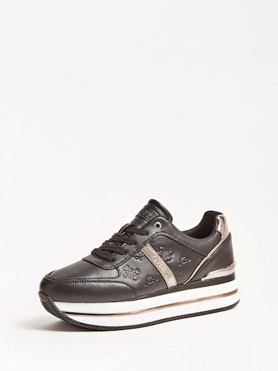 GUESS Sneakers laag 'Dafne' in de kleur Goud / Zwart / Wit, Productweergave