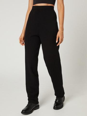juoda Guido Maria Kretschmer Collection Kelnės 'Merle'