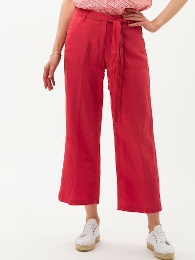 BRAX Pantalon 'Maine S' en corail, Vue avec modèle
