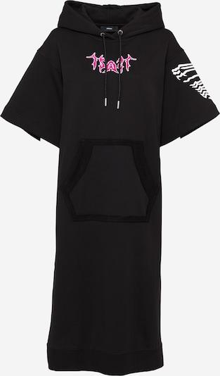 DIESEL Robe 'ORSY' en vert clair / violet / rose / noir / blanc, Vue avec produit