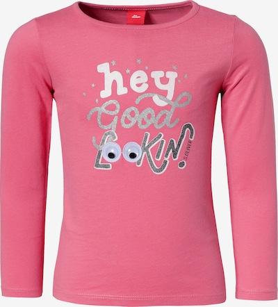 s.Oliver Junior Shirt in pink / weiß, Produktansicht
