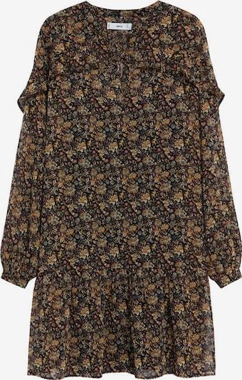 MANGO Kleid 'Chicago' in braun / dunkelbraun / hellrot, Produktansicht