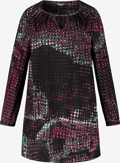 Ulla Popken Shirt in lila: Frontalansicht
