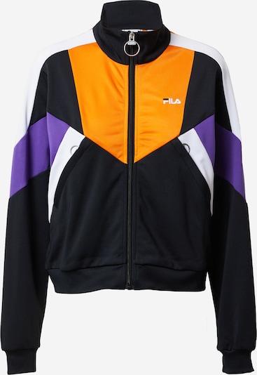 FILA Přechodná bunda 'BECCA' - fialkově modrá / oranžová / černá / bílá, Produkt