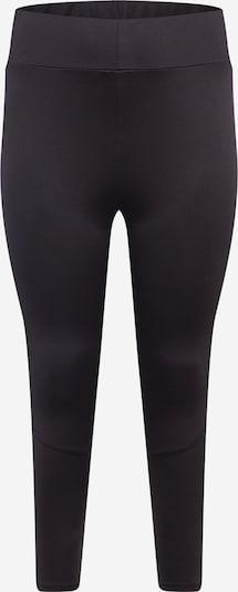 Active by Zizzi Sportbroek in de kleur Grijs / Zwart / Wit, Productweergave